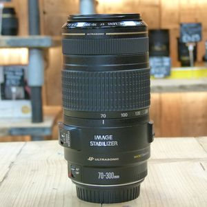 Used Canon EF 70-300mm F4.5.6 IS USM Lens
