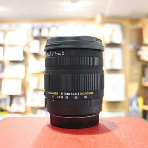 Used Sigma AF 17-70mm F2.8-4 Macro DC HSM Lens - Canon Fit