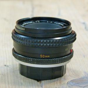 Used Minolta MF 50mm F2  MC-Rokkor-PF MD Lens