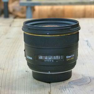 Used Sigma AF 50mm F1.4 DG HSM Lens - Pentax Fit
