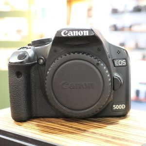 Used Canon EOS 500D D-SLR Camera Body