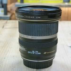 Used Canon EF-S 10-22mm F3.5-4.5 USM Lens