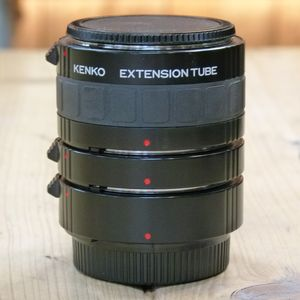 Used Kenko  Extension Tube Set - Nikon Fit