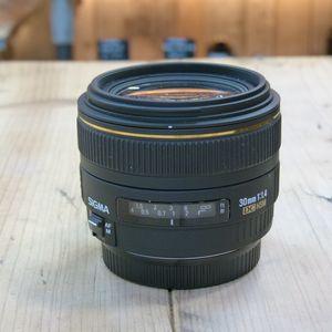 Used Sigma AF 30mm F1.4 EX DC HSM Lens - Canon EF Fit