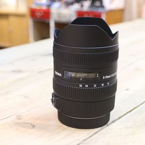 Used Sigma 8-16mm F4.5-5.6 DC HSM Canon Fit Lens