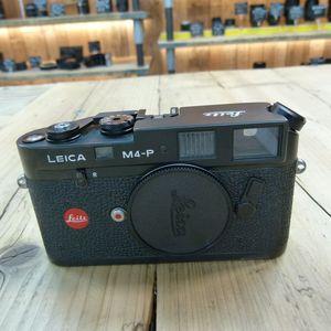 Used Leica M4-P Black Rangefinder Camera