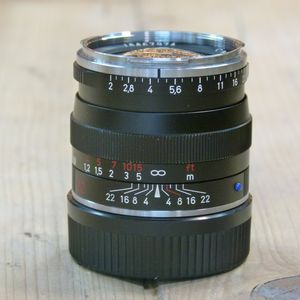 Used Carl Zeiss ZM 50mm F2 Planar T* Lens - Leica M Fit