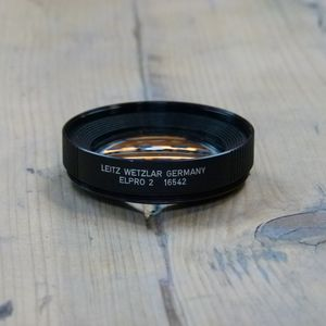 Used Leica 16542 Elpro 2 Close Up Filter for R 50mm F Lens Leitz