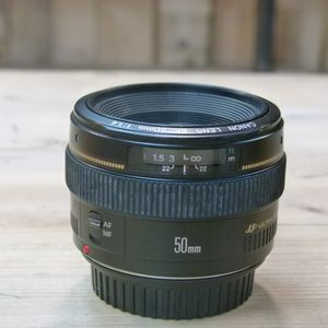 Used Canon EF 50mm F1.4 USM Lens