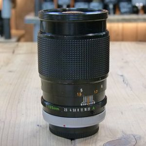 Used Canon FD 135mm F2.5 S.C. Lens