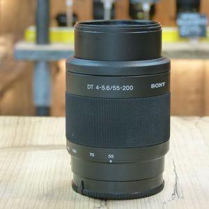 Used Sony AF 55-200mm F4-5.6  DT Lens A-mount