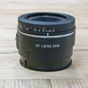 Used Sony AF DT 50mm F1.8 SAM A mount Lens