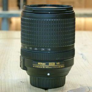 Used Nikon AF-S DX 18-140mm F3.5-5.6 G ED VR Lens