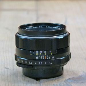 Used Pentax M42 MF 50mm F1.4 Super-Takumar Lens