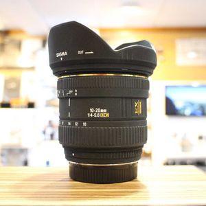 Used Sigma AF 10-20mm F4-5.6 DC Lens - Pentax Fit