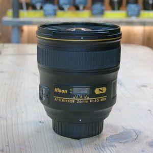 Used Nikon AF-S 24mm F1.4G ED Lens