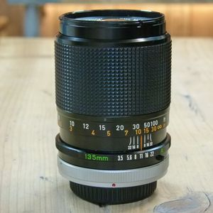 Used Canon FD 135mm F3.5 S.C. Lens