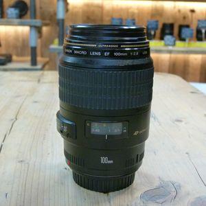Used Canon EF 100mm F2.8 Macro USM Lens
