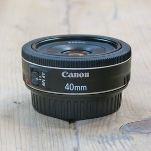 Used Canon EF 40mm F2.8 STM Pancake Lens