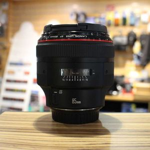 Used Canon EF 85mm F1.2 L II Lens