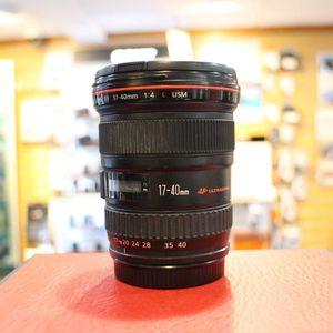 Used Canon EF 17-40mm F4L USM Lens