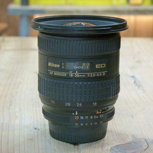 Used Nikon 18-35mm f3.5-4.5 D IF-ED AF Lens