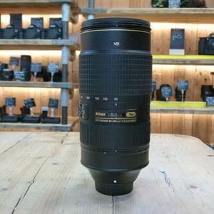 Used Nikon AF-S 80-400mm F4.5-5.6 G ED VR Lens