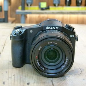 Used Sony CyberShot RX10 Black Digital Camera