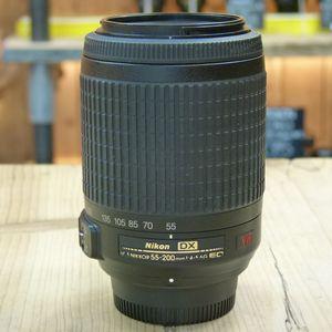 Used Nikon AF-S 55-200mm F4-5.6 G DX VR Lens