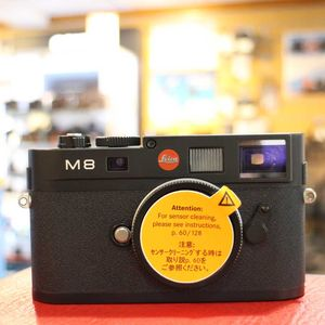 Used Leica M8 Black Camera Body 10701