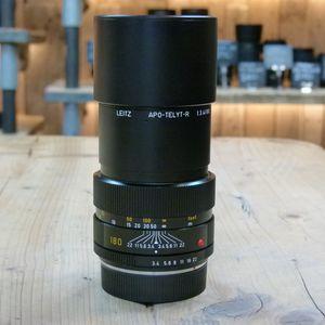 Used Leica R 180mm F3.4 Apo-Telyt Lens