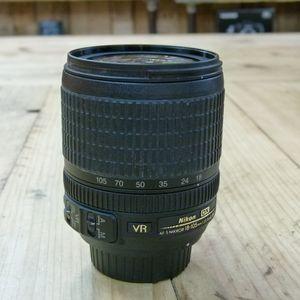 Used Nikon AF-S 18-105mm VR G ED DX Lens