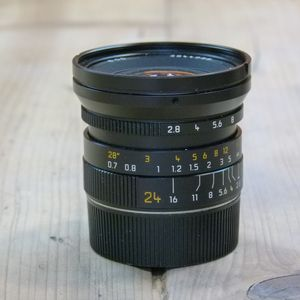 Used Leica Elmarit 24mm F2.8 Asph Lens 11878