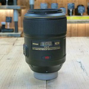 Used Nikon AF-S Micro 105mm F2.8 G VR Lens