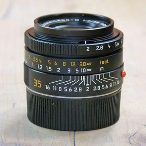 Used Leica M 35mm F2 Summicron Asph 11879 Lens