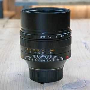 Used Leica 50mm F0.95 Noctilux M Asph 6-Bit Coded Lens 11602
