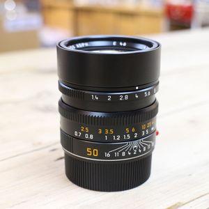 Used Leica Summilux M 50mm F1.4 Asph Six Bit Coded Lens 11891