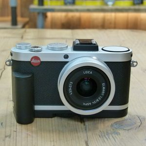 Used Leica X2 Silver Digital Camera with Grip