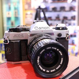 Used Canon AE-1 35mm Film Camera with 35-70mm F3.5 Lens