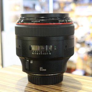 Used Canon EF 85mm F1.2 Mark II L USM Lens
