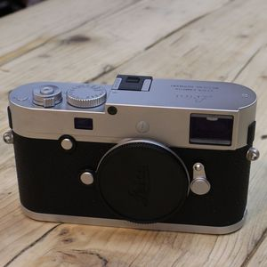 Used Leica M-P (TYP 240) Silver Digital Rangefinder Camera 10772