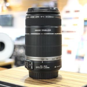 Used Canon EF-S 55-250mm F4-5.6 IS Lens