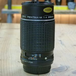 Used Pentax MF 200mm F4 Lens