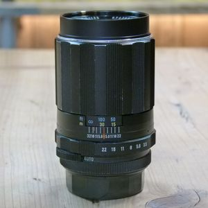 Used Pentax MF 135mm F3.5 Super Takumar  M42 Screw Thread Lens