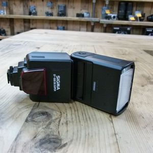 Used Sigma EF-500 DG Super Flashgun for Canon EOS ETTL