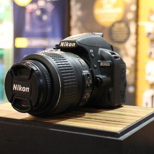 Used Nikon D3100 Digital SLR Camera with 18-55mm F3.5-5.6 VR Lens