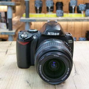 Used Nikon D40 Digital Slr Camera With Af S 18 55mm Lens