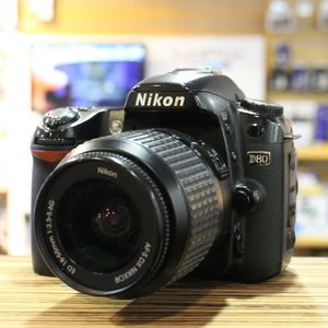 Used Nikon D80 Camera Body with 18-55mm DX Lens