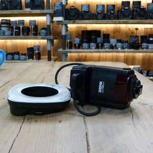 Used Sunpak Auto 16R Pro   Digital  Ring Flash - for DSLR or film camera