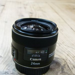 Used Canon EF 24mm f2.8 IS USM Lens